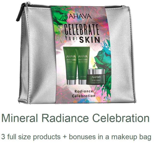 AHAVA Mineral Radiance Celebration