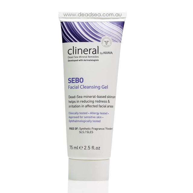Sebo cleansing gel - deadsea.com.au