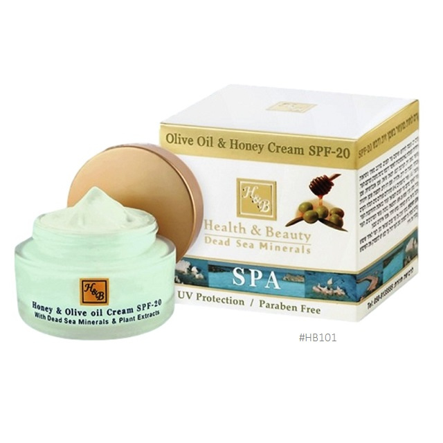 H&B Olive Oil and Honey Cream SPF20