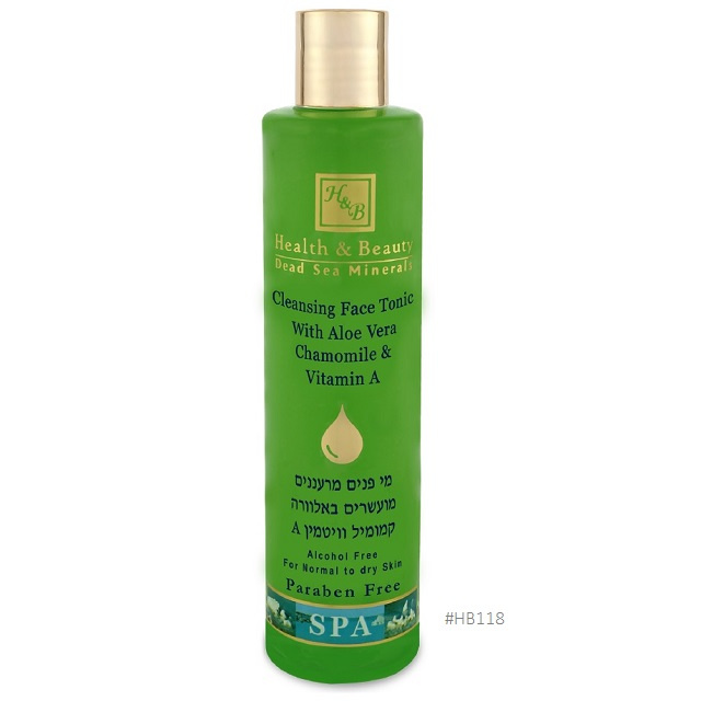 118 H&B Cleansing Face Tonic with Aloe Vera