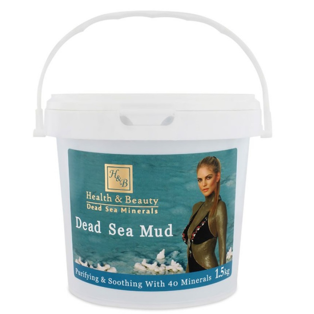 H&B Pure Dead Sea Mud  1.5kg