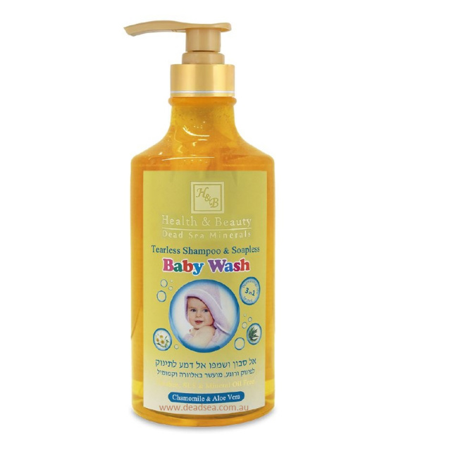 350 H&B Tearless Shampoo & Soapless Baby wash  780ml