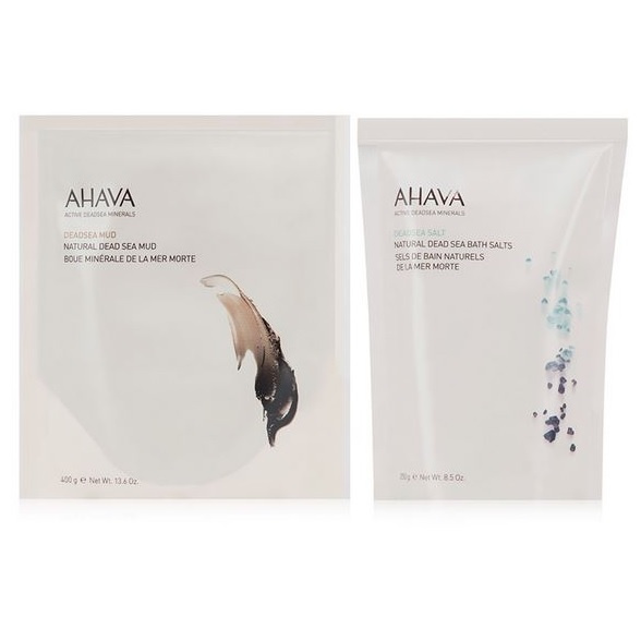 AHAVA Mud and Salt duo
