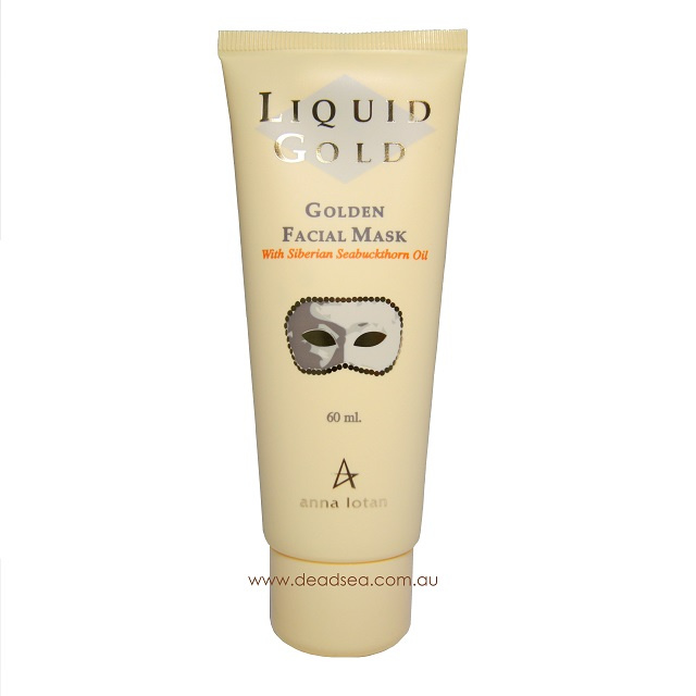 Anna Lotan Golden face mask