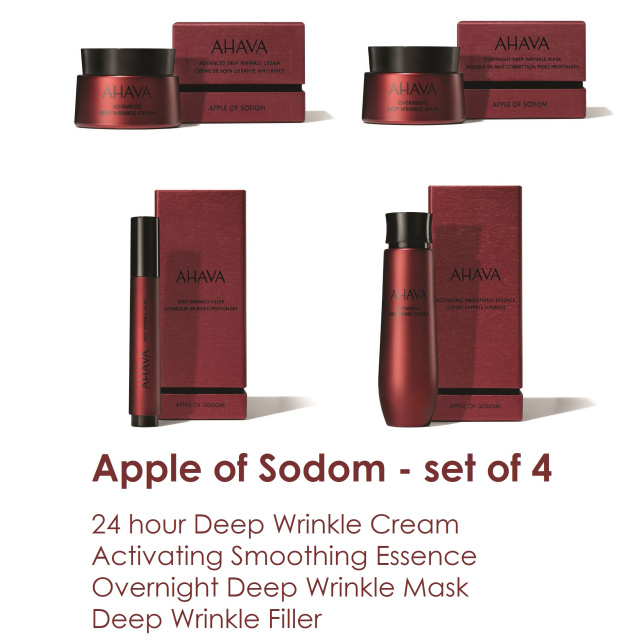 Apple of Sodom set of 4