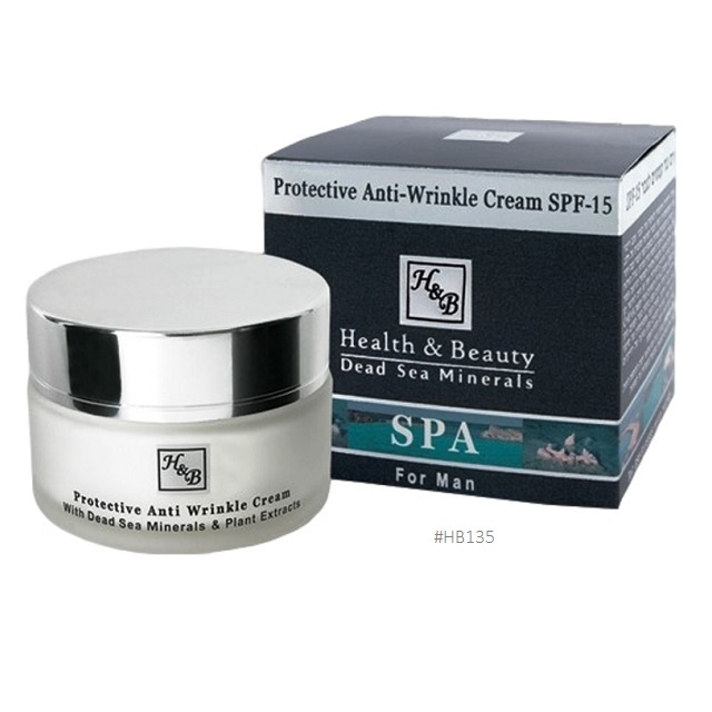 135 H&B mens Protective Anti-Wrinkle Cream SPF-15