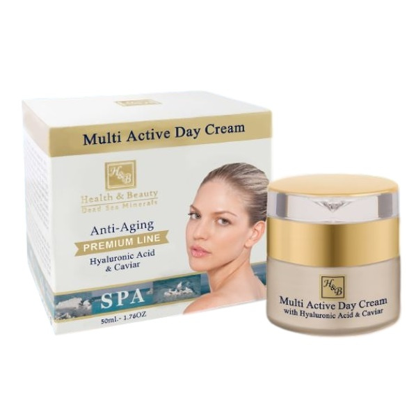 H&B Multi-Active Day Cream with Hyaluronic acid and Caviar extract