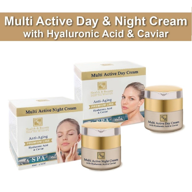 Premium multi active Day & Night creams