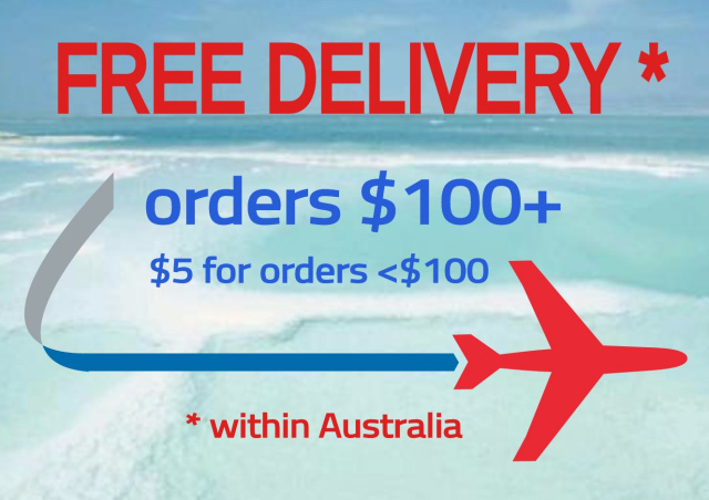 Free delivery within Australia