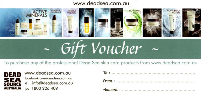 Gift Voucher - select a product/s