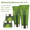 AHAVA Mineral Radiance set of 4 products